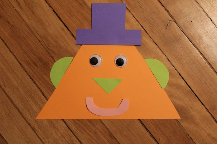 Tommy the Triangle- shape activity for preschoolers! @teachingmama