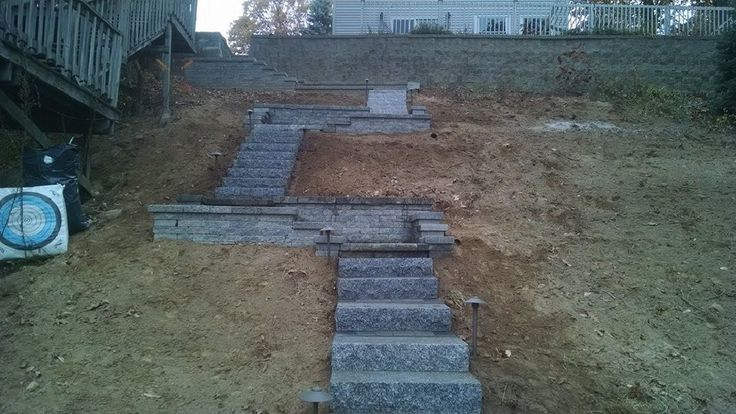 Staircase built on the bank of Congomond Lake, Southwick, Mass. - Stairs, Designs Of Stairs Inside House, Home Stairs Ideas, Staircase Design Ideas, Modern And Retro Staircase Designs For Big And Small Homes
