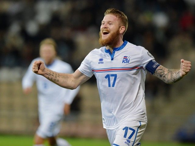 Aron Gunnarsson: 'Iceland are just getting started'