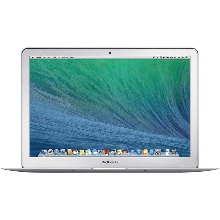 "Apple - MacBook Air 13.3"" Refurbished Laptop - Intel Core i5 - 4GB Memory - 256GB Flash Storage - Silver, MD761LL/A"