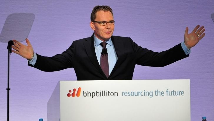 Branding tightrope: BHP chief Andrew Mackenzie described the soon-to-be demerged assets as 'high quality' but 'not at the scale of those that remain in our core businesses'.