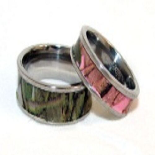 Camo promise rings for him and what