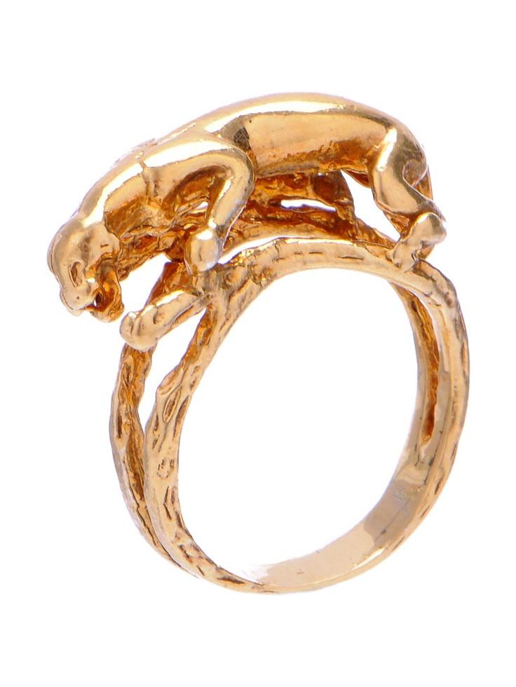 Art of Henri - Jaguar Ring -Vermeil | VAULT