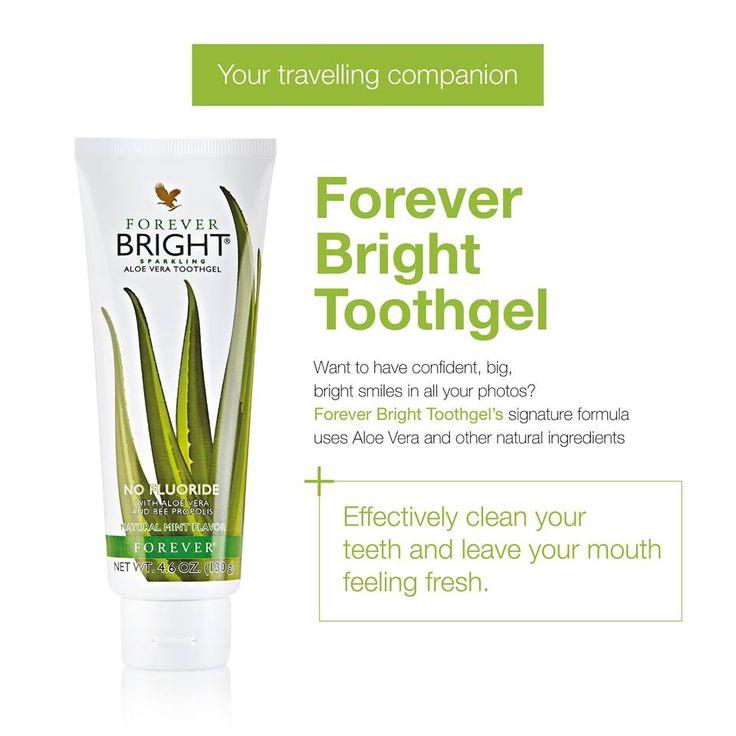 Aloe vera bright toothgel