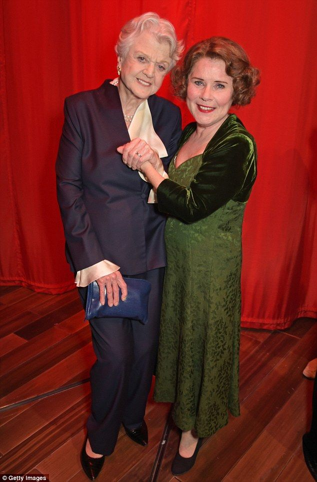 Support: Angela Lansbury should support fellow star Imelda Staunton at the opening night o...