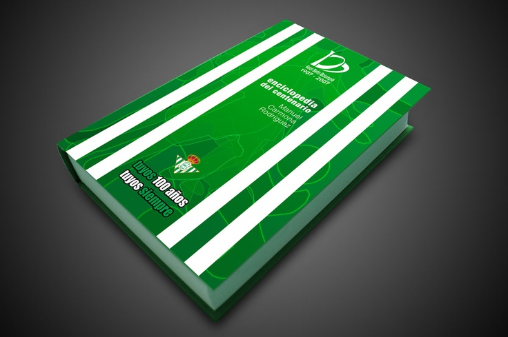 Diseño de la enciclopedia del Real Betis Balompié. Más en http://www.lacaseta.com/100-aniversario-real-betis-balompie/ #Betis #ideas #fútbol #creatividad #design #diseno