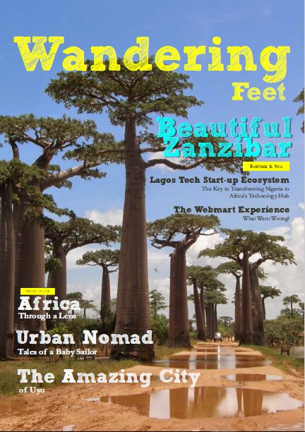 The Wandering Feet Magazine is an in-flight magazine that brings you closer to the wonders of travel,tourism and lifestyle...