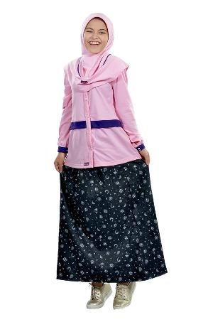 Baju Muslim Stelan Anak Ethica RSK 31 Pink - BIG SALE