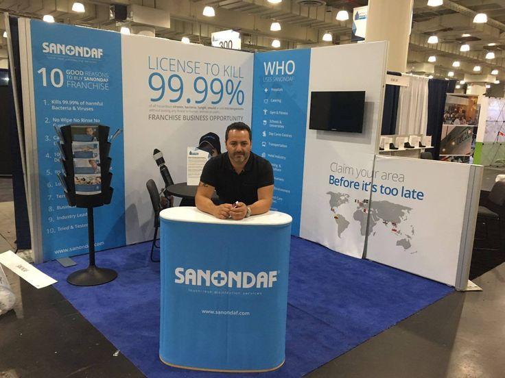 Jason Degiorgio CEO & Founder SANONDAF INT at the IFE in New York