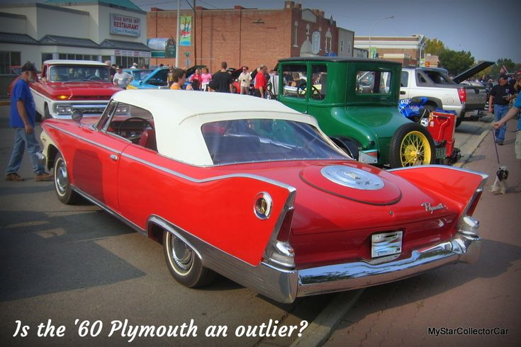 Was the '60 Plymouth an outlier? MSCC weighs in--here's the link: http://mystarcollectorcar.com/the-1960-plymouth-outlier-or…/ #60Plymouth