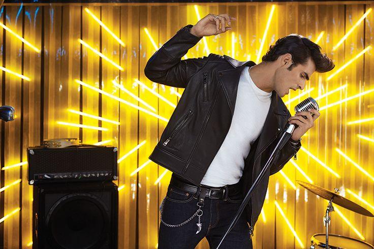 Playera, Diesel - Chamarra, Pal Zileri - Jeans y Cinturón, Cinto - Cadena y Pulsera piel/plata, Tane - Cadena colmillo, Pulsera, 1 de 50 - #NochesPalacio Rock N' Roll http://soy.ph/NP_IG16