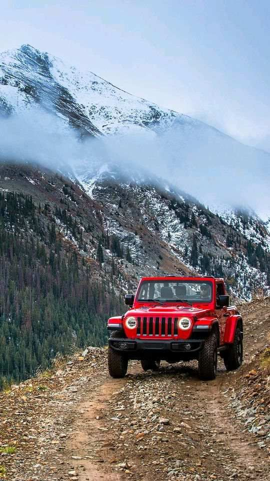 Jeep Wrangler Trail Run Mountains Wallpaper Ahh Jeeps Pinterest