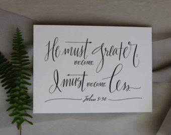 Lamentations 3:22-23  Hand-Lettered Scripture Print  by Paperglaze