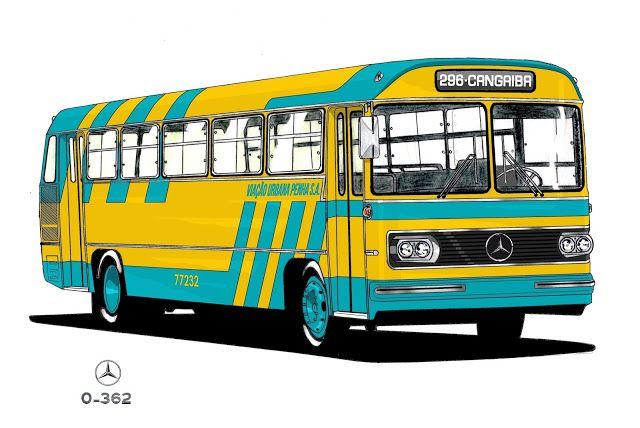 Will.Bus: Mercedes-Benz O-362 - (SP) Viação Urbana Penha S.A. (Década de 70)