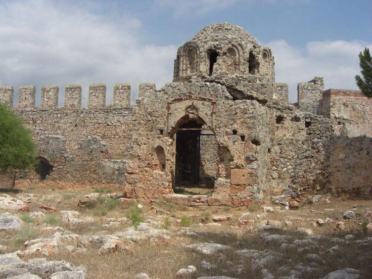 Alanya castle, alanya turkey