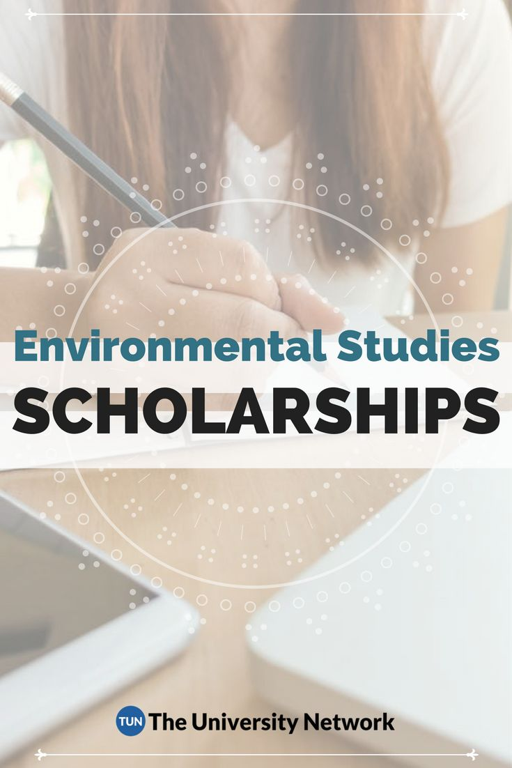 Here is a selection of Environmental Studies Scholarships that are listed on TUN.