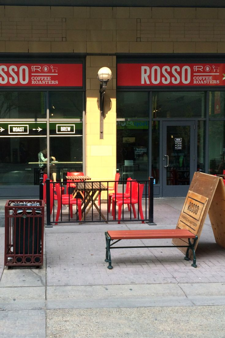 Rosso Coffee Roasters-  We pride ourselves in sourcing, roasting and brewing the best coffees for the best customers.