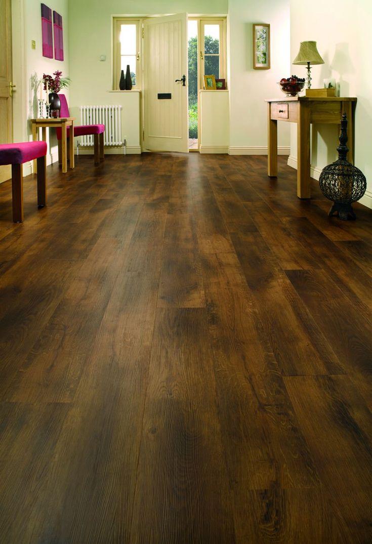 Karndean Van Gogh Smoked Oak VGW70T vinyl flooring brings