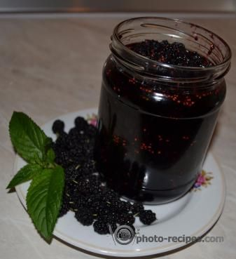 Варенье из шелковицы #Mulberry #jam http://photo-recipes.com/recipe/varene-iz-shelkovitsy #desserts #recipe #шелковица