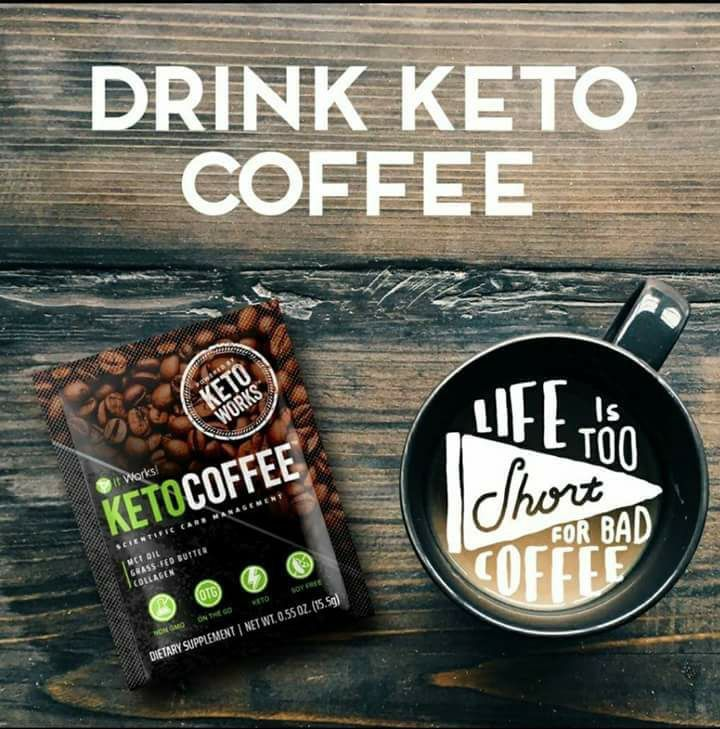 The wait it over.. our newest and greatest product was released just this afternoon! ☕️ Keto coffee from ItWorks! What does it do? ‍♀️ It increases your bodies ketone production to rapidly breakdown fat, boost your energy, and sharpen your focus! You better believe that this is going to be on my next autoship! Just in time for cold weather season! And.. no one else out on the market does it.. so let's get the ball rolling!