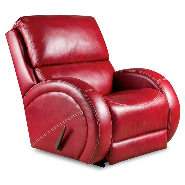 Como Red Power Recliner | Weekends Only Furniture And Mattress