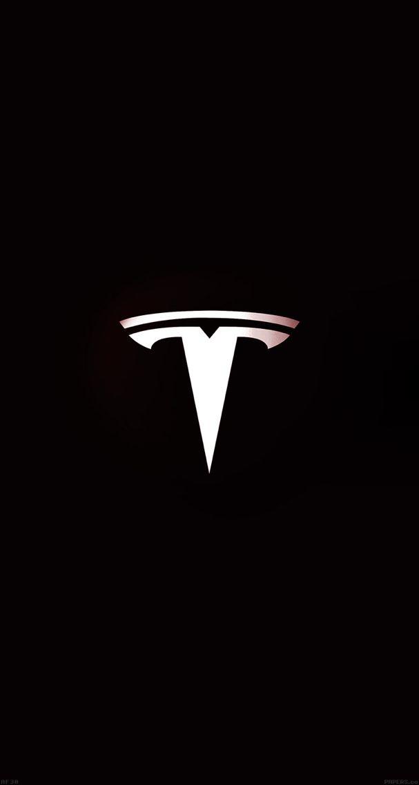 Tesla Motors Logo Art