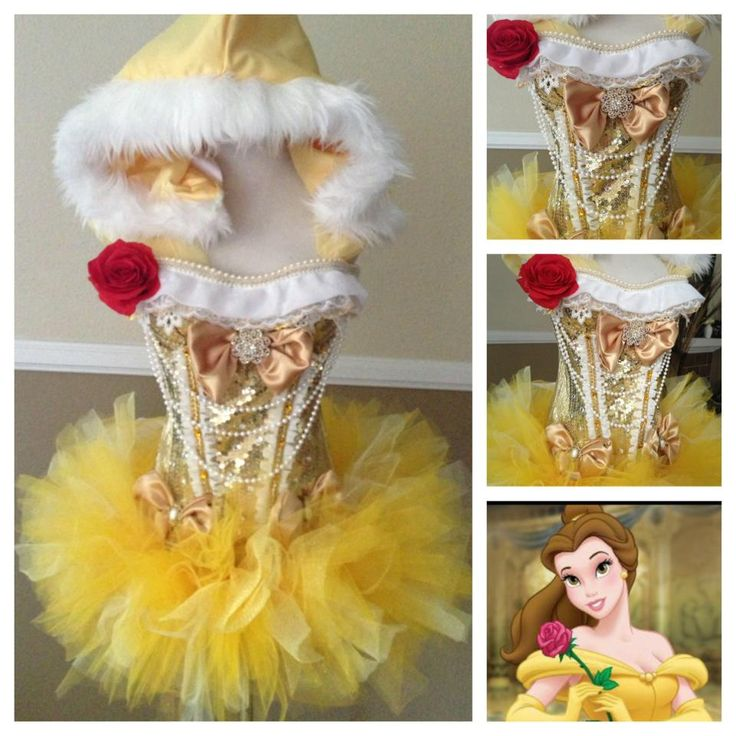 Belle rave costume from Electric Laundry