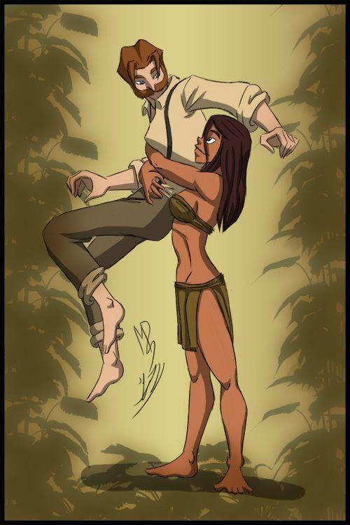 Disney Character Design Tarzan : Gender bends tarzan bent pinterest