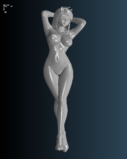 High quality 3D carved figure sculpture 3d model for cnc machine in STL file format Nude women 2 #Affiliate