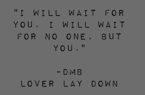 DMB, Lover Lay Down. vintage dave.