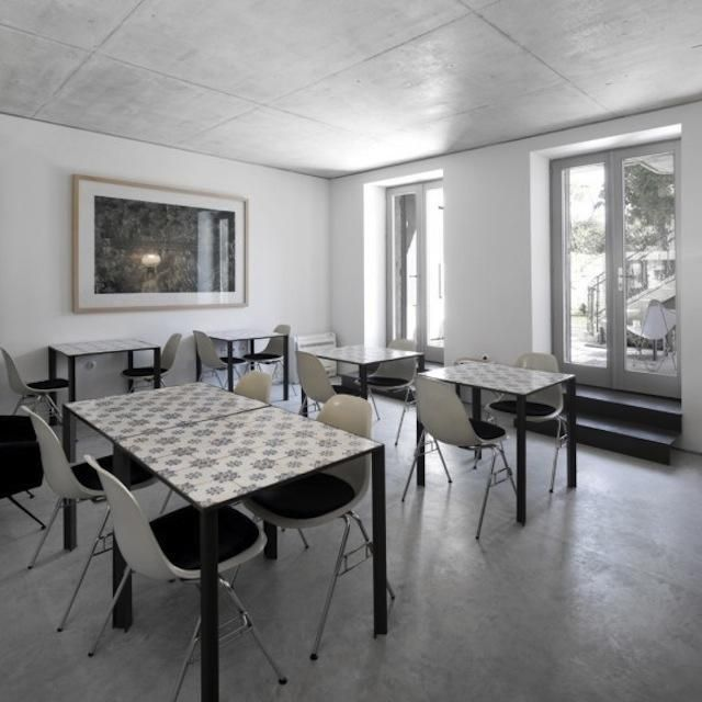 The tables and chairs are a great idea for the family room in the basement.