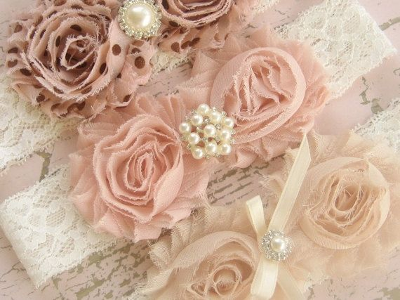 Vintage Headband - Chocolate Chip Collection - One Headband - Flower Girl, bridesmaids, shabby chic colors on Etsy, $5.00