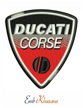Ducati Corse Logo Car Logos Embroidery Designs Pinterest