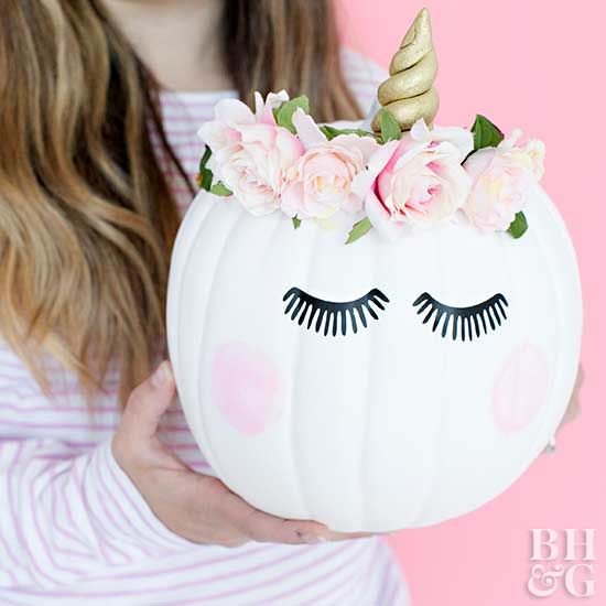 Put away the carving knife and dress up your pumpkin instead!