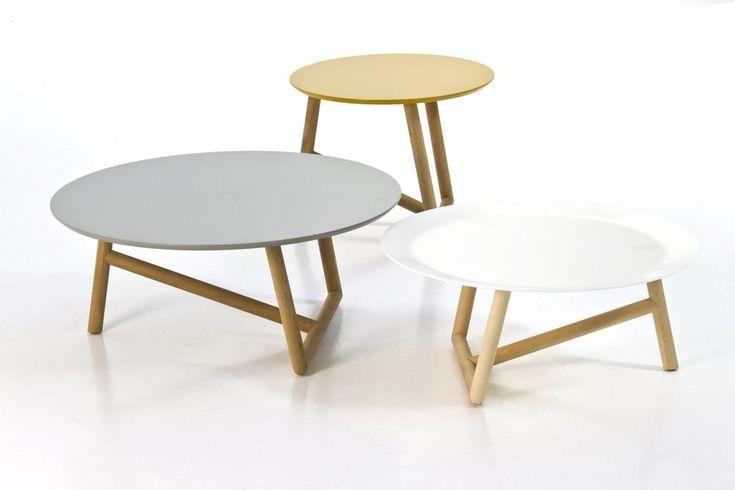 Klara Low Tables by Patricia Urquiola for Moroso.  #wood #table