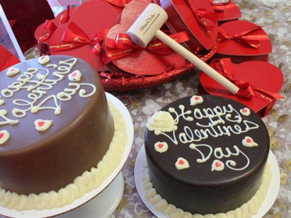 Serenade Chocolatier: Chocolate Pinata Cake for Valentine's Day