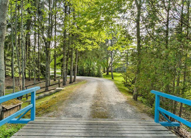 Farmhouse Gate Ideas Gated Farmhouse. Fence and gate farmhouse #Gate #Farmhouse #Fence Sotheby's Canada.