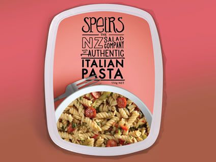 Packaging that Forge designed for Speirs Italian Pasta. Shows off the new Speirs…