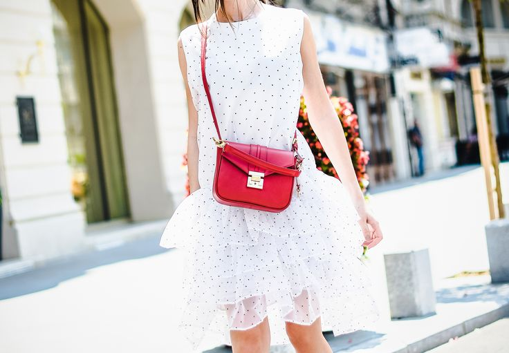 Strawberry Breeze Leather Bag