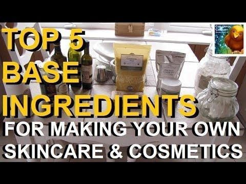 Top 5 Base Ingredients For DIY Cosmetics