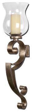 Loran Metal Wall Sconce - traditional - wall sconces - Fratantoni Lifestyles