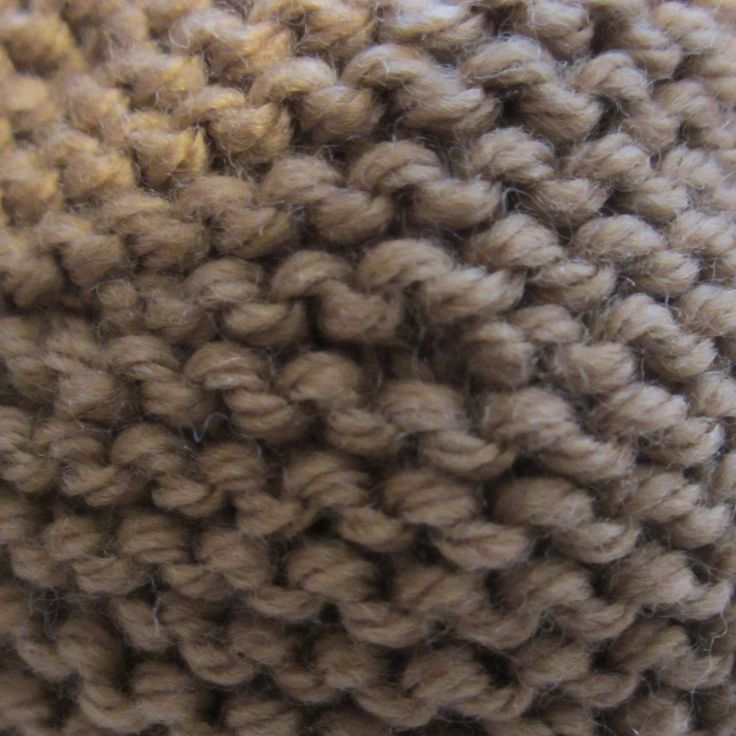 Knitting Garter Stitch Right Side : How to tell right from wrong in garter stitch stitches