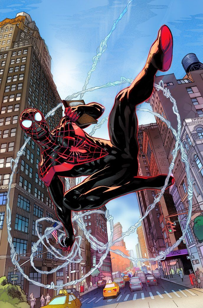 Twitter Comic And Card Cornucopia Pinterest Spiderman Spider And Miles Morales
