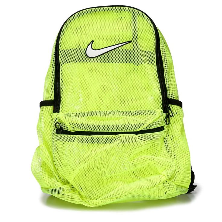 Nike Brasilia Mesh Backpack Accessories (Volt)