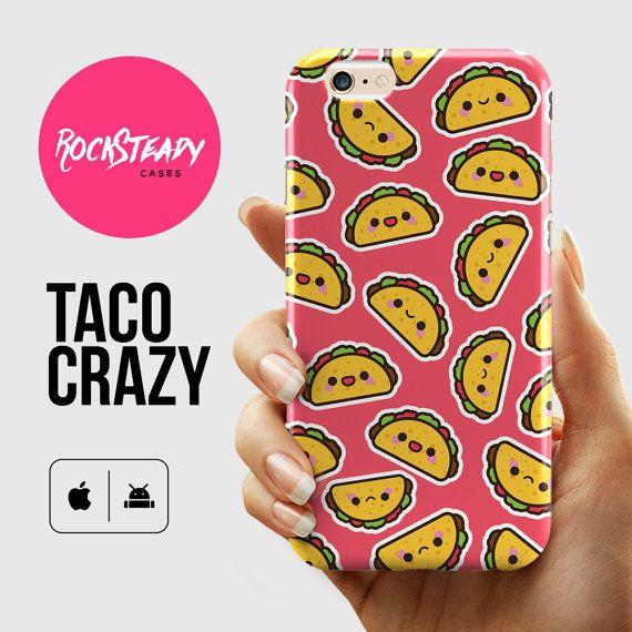 Coque iPhone 6 kawaii Taco étui pour iPhone 7 par RockSteadyCases