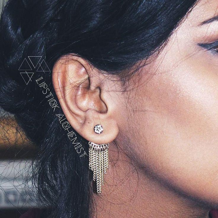 #Earjacket #Obsessed #thathighlighttho #beautyblogger #indianblogger #styleblogger #springbreak #fashionblogger