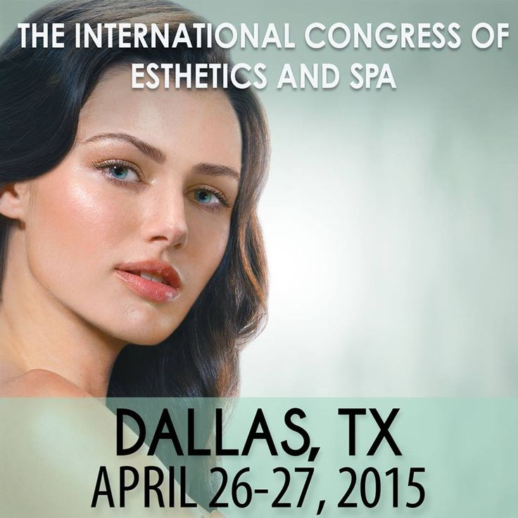 We'll be at The International Congress of Esthetics and Spa on April 26-27 in Dallas, TX #Dermatude