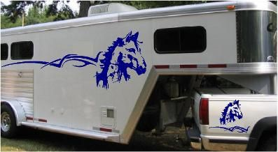 109 Best Horse Amp Truck Decals Images On Pinterest