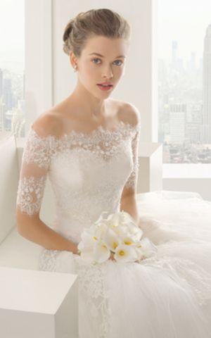 Robe de Mariée Exceptionnel Classique Spécial Col en Forme de Cœur