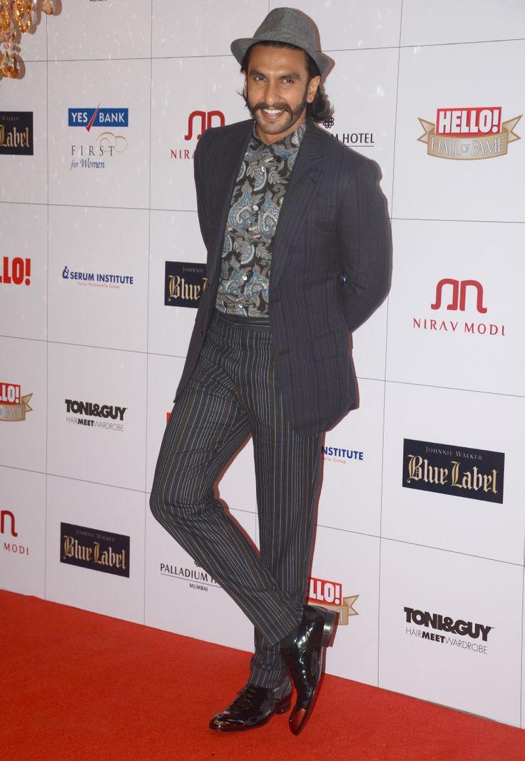 Ranvir Singh's got style